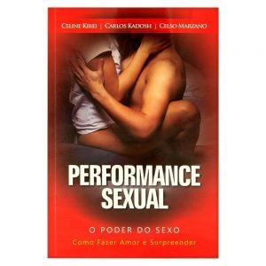 LIVRO PERFORMANCE SEXUAL CARLOS KADOSH | Sex Boutique Erótica