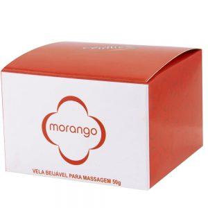 VELA BEIJÁVEL MASSAGEM 50GR CHILLIES Morango | Sex Boutique Erótica