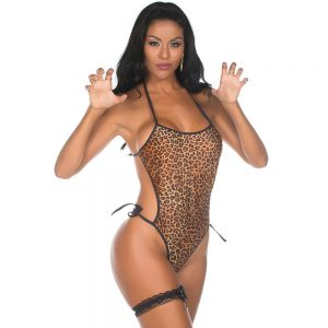 KIT MINI FANTASIA BODY ANIMAL PRINT | Sex Boutique Erótica