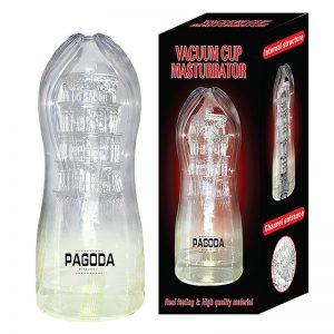 Masturbador Lanterna em Cyberskin- Pagoda | Sex Boutique Erótica
