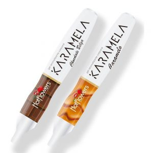 CANETA HOT PEN KARAMELA COMESTÍVEL 35 Gr. HOT FLOWERS | Sex Boutique Erótica